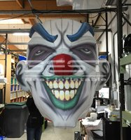 Club party use hanging inflatable skull monster devil clown death head decoration Halloween promotional