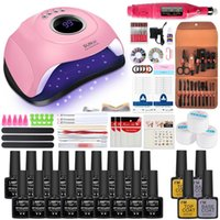 Nail Art Kits Set Gel Polish Kit Tool Clippers Cuticle Manicure Tools Care Grooming Clipper