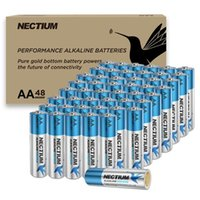 Üstün Performans AA Alkalin Saf-Altın-Alt Pil 1.5 V Ni-MH Kamera Fener Oyuncak Kullanımlık Tek Piller IOT Aygıtları ve Akıllı Kilit 48 adet / Karton