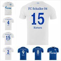 20 21 Schalke Soccer Jerseys Kutucu Serdar 2021 Raman Football Shirt Harit Maillot de Pie