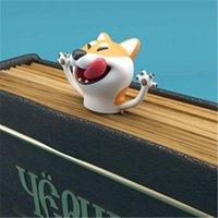 Bookmark Wacky 더 많은 재미를 위해 3D 스테레오 만화 사랑스러운 동물 사무실 학교 용품 북마크