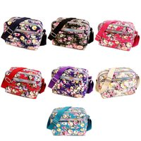 Fashion Printing Women Messenger Bags Canvas Sport Mummy Bag Ladies Dog Car Seat Covers
