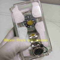 Super n Fabrikuhr 904L Stahl Herren 41mm Saphirglas 126610 Schwarzes Zifferblatt grün Keramik Lünette mit Kunststoff Geschenkbox Tauchen 2813 Bewegung Automatische Uhren