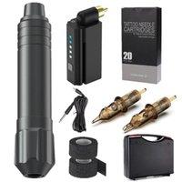 Nail Art Equipment Rotary Tattoo Machine Beginner Set Tattoo-machine Pen Wireless Mast Permanent Makeup Gun Kit