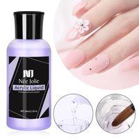 Nail Art Kits flüssiges Monomer Acryl 20ml / 60ml für DIY Verlängerung Carving Maniküre-Werkzeug