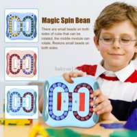 3 цвета игрушки поколения вращающиеся волшебные фасоли интеллектуальное развитие пальцев пальца пальца