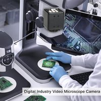 "2.0MP 1 3"" Digital VGA Outputs Industry Microscope Camera For Lab   Phone PCB Soldering Repair IP Cameras"