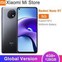 2021 Globale Version Xiaomi Redmi Note 9T 5G Handy 4GB RAM 128G ROM Dimension 800U 5000MAH Batterie 48MP Hinten Cam NFC