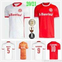2020 2021 Club Internacional RS Soccer Jersey N. Lopez N. Patrick D.Alessandro Pottker Guerrero Custom Man Women Kids Jeunes Chemise de football