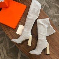 Brooke Decibel 2021 latest women designer Martin boots desert boo ts s flamingo love arrow medal 100% leather thick-soled winter shoes high heel size 35-40 framed