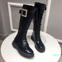 designer Winter Shoes Women Boots Luxurious Tall Boot Black Sheeskin Calfskin Genuine Leather Over-knee Wedding Party Dress Size 35-41