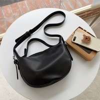 Women Shoulder Crossbody Handbags Wallets Women's Casual Multi-Sided Saddle Bags Sole Color Travel Bags For Women Simple Rits98UQ