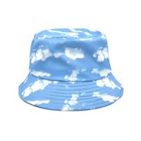 Açık Şapka Kravat Boya Kelebek Yangın Bulut Ejderha Baskı Balıkçı Şapka Erkekler ve Kadınlar için Eğlence Kova
