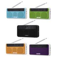 Radio Rolton E500 Wireless FM 6W HiFi Stereo Bluetooth Speaker Music Player Digital Radios LED Display Mic Record TF