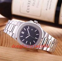 u1 factory watch men automatic watches silver strap blue stainless mechanical waterproof wristwatch montre de luxe