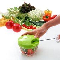Multi-function Manual Vegetable Shredder Food Cutter Fruit Slicer Hand High Speedy Chopper Manual Meat Grinder Kitchen Tool