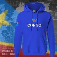 メンズデザイナーTシャツDr Congoパーカー男性スウェットシャツ汗ヒップホップストリートウェア服スポーツトラックスーツCOD DRC DROCコンゴキンシャコンゴ