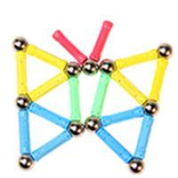 2021 Yeni Manyetik Bar Renk Manyetik Topları Fantezi Dekompresyon Takım Elbise Oyuncak Yapı Taşları Montaj Oyuncaklar Q0723