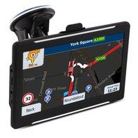 "7 ""pollici auto camion navigazione GPS FM 8GB GPS Navigator IGO Primo 3D Maps Funzioni Avin AVIN Bluetooth"