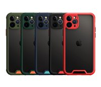 Премиум-абонепроницаемая защита камеры четкие четкие чехлы для телефона для iPhone 12 11 Pro Max XR X 8 7 плюс Samsung S21 NOTE20 A32 A12 A02S S20FE A51 A7 A7
