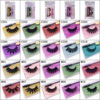 Styles Natural False Eyelashes Soft Light Fake 3D Mink Eyelash Glitter Eyelash Extension Mink Lashes With Eyelash Tweezer Brush Makeup