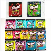 empty mylar package bag trolli trrlli Errlli edibles Gummies packaging smell proof resealable zip lock pouch warheads 600mg