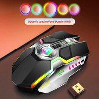 Keyboard Mouse Combos Wirless Gaming Carteles inalámbricos Recargable RGB colorido para computadora portátil de escritorio