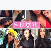 Malaisien Virgin Humain Hair Weave Wholesale 3 ou 4 ou 5pcs Lot Brésilien droit Virgin Hair Indian Malaisien Cheveux Bonds Msjoli