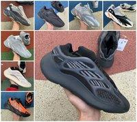 700 v2 óssea reflexiva fósforo fósforo homens mulheres tênis de corrida de alta qualidade hospital carbono azul sólido cinzento inércia esportiva sapatilhas