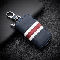 Keychains Design Leather Car Key Cover For Renault Kadjar Captur Clio Megane 2 3 4 RS Koleos Logan Scenic Card Case Keychain Cases