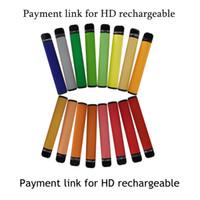 Dispositivo monouso Pod 8.0ml Pens e sigaretta 650mAh Batteria ricaricabile Cartuccia vape Packaging Vuoto Starter Kit 3300 Sfuppi personalizzati