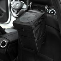 Car Organizer Portable Folding Storage Bag Trash Bin Cans Waterproof Oxford Cloth Garbage Holder Rubbish Cases Interior