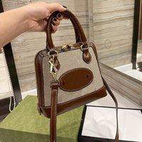Shell Bag Designer Brand Роскошные дамы Ретро Диагональная сумка на плечо Классическая сумка Портативный высококачественный оригинальный коробка Упаковка Высококачественный подарок Mailman