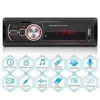 VODOOL 1 DIN Araba Radyo MP3 Çalar Bluetooth Stereo Dash Kafa Ünitesi FM AUX TF D U Disk Multimedya 210625