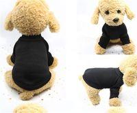 Животехниковая собака вязаная одежда свитер флис пальто для маленькой средней большой собаки теплая домашняя кошка одежда мягкий щенок 3 цвет (красный розовый черный) 1437 v2