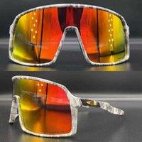 2021 New Arrival Cycling Sunglasses Men Women UV400 Protection Polarized 3 Lenses Eyewear Lentes De Ciclismo Baseball Sutro X0803