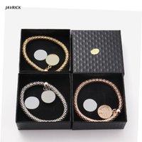 Charm Bracelets Diy Jewelry Making Sublimation Blank Round Shape Pendants Gifts