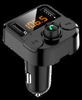 & MP4 Players FM Transmitter Bluetooth 5.0 Car Kit Dual USB Charger 3.1A 1A 2 Port MP3 Music Player Support U Disk TF Card