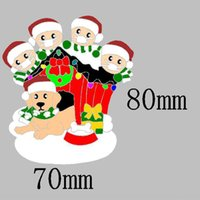 Family New Christmas Year and Ornaments Festivals decoration Decoration with Dog Pets Personalized Hanging Pendants Part