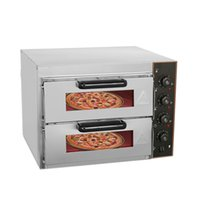 3000W Double Layer High Capacity Egg Tart Pizza Oven Commercial Stainless Steel Pizza Maker Baking Machine Electric oven