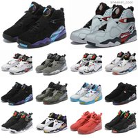 2021 New Arrival Jumpman 8 8s Mens Basketball Shoes Snow Snowflake Chrome Valentines Day Reflections Captain Bugs Bunny Yellow Trainer Shoes
