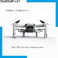 UAV PGYTECH Extended Landing Gear Leg Support Protector Extensions For DJI Mavic Mini  DJI Mini 2 Drone Universal Accessories Q0602