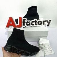 2021 Siyah Beyaz Hız Trainer Rahat Ayakkabılar 2.0 Adam Kadın Platformu Çorap Çizmeler Streç Örme Yarış Runner Sneakers