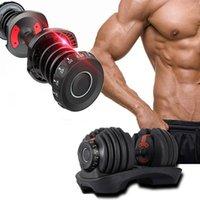 قابل للتعديل الدمبل bowflex selecttech 1090 الوزن سريع dumbbell مجموعة الرجال اللياقة البدنية المنزل