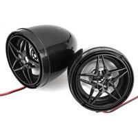 Sistema de alarma de audio de automovilísticos antío de motocicletas Bluetooth MP3 FM Radio Estéreo Altavoz Amplificador de música + Control remoto