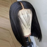 Hot Selling 13X4 Remy Short Wigs Human Hair Wigs Bob Lace Front Wigs For Women Cheap Brazilian Hair Straight Lace Closure Wig