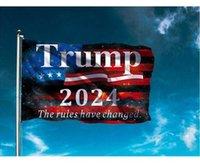 EUA Bandeira Presidencial 90 * 150 cm2024 Suporte Donald Trump Ao Ar Livre Banner Acessórios Atacado