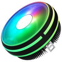 Computer CPU Cooler Radiator 120mm PWM Heatsink Fan 12V 4Pin RGB Cooling Computer LGA 1156 1366 I5 I7 AM2 AM4 PC CPU Cooler Fan