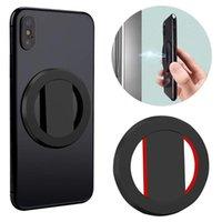 Suporte de Telefone celular Magnético ultra fino Anel de dedo de montagem 270 graus Rotating Stand Universal para suporte a carros de tablet móvel Suportes montarias