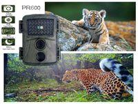 Suntekcam Trail Hunting Camera PR600A 1080P 적외선 1200 만개의 야외 카메라 38 라이트 모니터링 미니 트랩